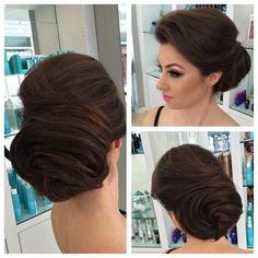 """2,679 Likes, 108 Comments - Art Lalunc (@artak_hairstylist) on Instagram: """"Simple updo's sometimes are the best! Beautiful client of mine, makeup done by Lin, and hair by me.…"""""""
