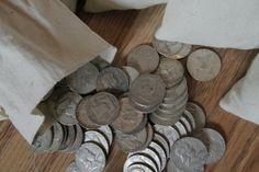 Survival Money - 1948-1963 Franklin Half Dollar 90% Circulated Silver Coin - $9.99