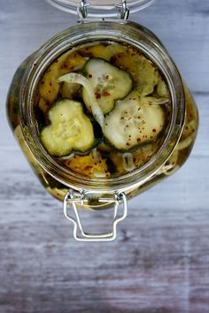 Bread & Butter Pickles by recipegirl #Pickles #recipegirl