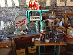 Vintage Display @ The Owl in Elgin TX
