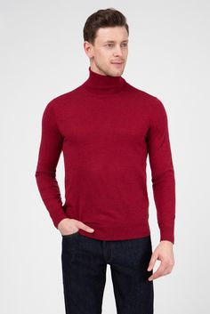 Чоловік бордовий гольф Gant Md Fashion, Red Turtleneck, Men Sweater, Turtle Neck, Sweaters, T Shirts, Style, Sweater