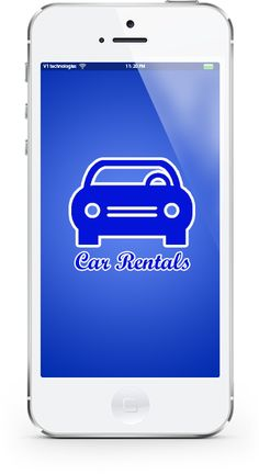 A mobile app to book cars on mobile phones, and a good way advertisement for car rental companies.