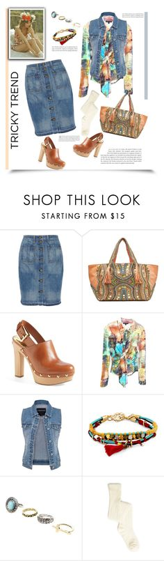 """""""Cool Clogs'"""" by dianefantasy ❤ liked on Polyvore featuring rag & bone/JEAN, Antik Batik, MICHAEL Michael Kors, maurices, Sole Society, polyvoreeditorial, DenimStyle and coolclogs"""