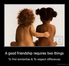good friendship :)