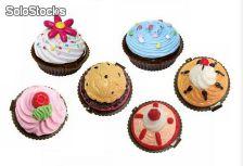 Bálsamo de labios pastelito cupcake para bodas, bautizos, comuniones