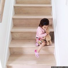 Lately, I've been noticing people are way more concerned about the safety of my 18 month old than I am. They see her walking toward a flight of stairs or heading up the ladder of a swing set and immediately they run to pull her away before she hurts herself.  I always run a few beats late