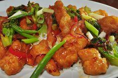 Pollo agridulce fácil de preparar ༺✿ƬⱤღ  http://www.pinterest.com/teretegui/✿༻