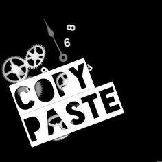 #CopyPaste