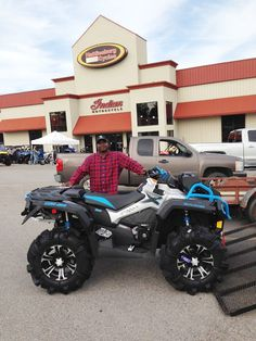 Thanks To Ellis Martin From Lumberton Ms For Getting A 2016 Can Am Outlander Xmr 1000 At Hattiesburg Cycles