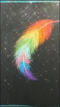 Crayon Drawings, Oil Pastel Drawings, Crayon Art, Art Drawings Beautiful, Art Drawings Sketches Simple, Art Drawings For Kids, Canvas Painting Tutorials, Painting Art, Mandala Painting