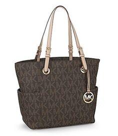 Michael Kors Brown Tote Bag $138