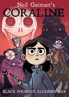 Neil Gaiman's Coraline scents are live at Black Phoenix Alchemy Lab! Label and promotional artwork by Vera Brosgol! Coraline Jones, Coraline Book, Coraline Characters, Tim Burton, Laika Studios, Kubo And The Two Strings, Fanart, Vanellope, Animation