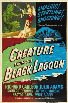 """""""The Creature from the Black Lagoon""""(1954)"""