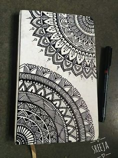 40 Beautiful Mandala Drawing Ideas & Inspiration - Brighter Craft Source by Need some drawing inspiration? Here's a list of 40 beautiful Mandala drawing ideas and inspiration. Why not check out this Art Drawing Set Artist Sketch Kit, perfect for practisin Mandala Doodle, Easy Mandala Drawing, Simple Mandala, Mandala Art Lesson, Doodle Art Drawing, Mandala Artwork, Zentangle Drawings, Mandala Painting, Cool Art Drawings