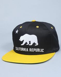 NBA, MLB, NFL Gear - California Republic snapback