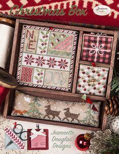 DMC Cross Stitch Kit-arbre de Noël Rouge Noël souvenir design nordique