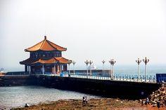 Zhanqiao Pier, Qingdao, China Qingdao, Cities, China, Adventure, World, Places, Pretty, Adventure Game, Adventure Books