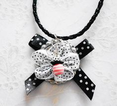 Big flower Long necklace for girls and teens by splendorhoney, $18.50
