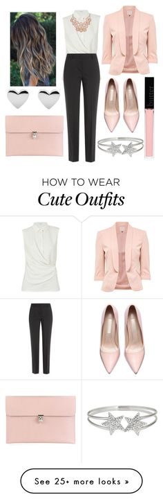 Trend To Wear: Cute Outfits Sets - Office Outfits Business Casual Outfits, Business Attire, Office Outfits, Office Wear, Business Fashion, Classy Outfits, Cute Outfits, Heels Outfits, Office Uniform