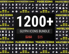 "Check out new work on my @Behance portfolio: ""Solid Icons - Glyph Icon Mega…"