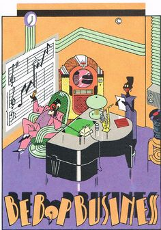 Be Bop Business, Affichekaarten, One Card Selling