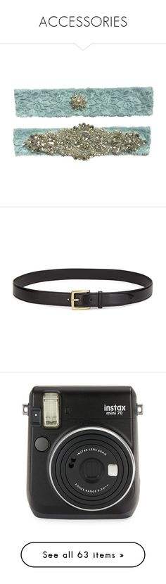 """""""ACCESSORIES"""" by mydntkrl ❤ liked on Polyvore featuring intimates, accessories, belts, slimming belt, real leather belts, leather belts, 100 leather belt, genuine leather belt, fillers and camera"""