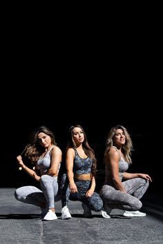 The Camo Collection has a complete, innovative soft seamless fabric and all-over jacquard camo pattern which provides a supportive, high waisted fit and flattering performance for every training session. Amazing Women, Camo, Sportswear, Training, Leggings, Bra, Fitness, Fabric, Pattern