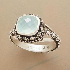 ooh.    KENTE PEARL RING  $88.00  medieval garden ring $168