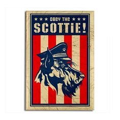 Obey the Scottie!