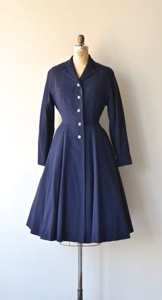 As perfect as it gets. 50s princess coat.