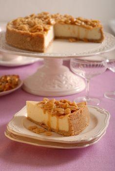 Karamelový cheesecake s ricottou a tvarohom