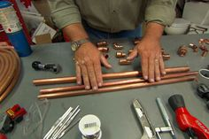 Learn about the various parts commonly used in a home plumbing system from This Old House plumbing and heating expert Richard Trethewey