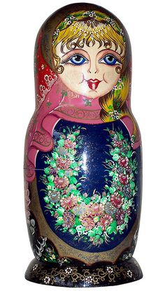 Matryoshka Nesting Doll. http://www.pinterest.com/MatryoshkasSoap/one-of-a-kind-matryoshka/