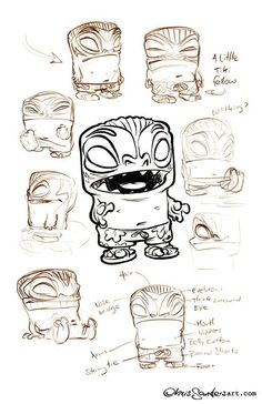 by Chris Sanders tiki totem concept art Character Design Animation, Character Creation, Character Design References, Character Drawing, Character Illustration, Character Concept, Concept Art, Illustration Art, 3d Character