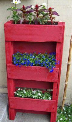 """Les articles de ce blog concernant les palettes recyclées  sont les plus lus. Et notamment celui intitulé """" 60 idées pour recycler des p..."""