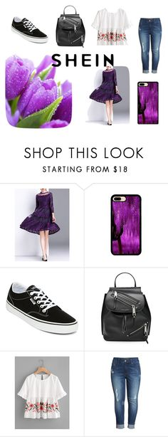 """""""Shein"""" by selmira-934 ❤ liked on Polyvore featuring Vans, Marc Jacobs and Melissa McCarthy Seven7"""