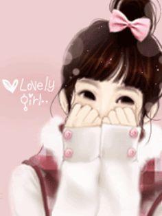 My Dream World: Enakei Girl Korean Anime, Korean Art, Cute Korean, Girl Cartoon, Cute Cartoon, Happy Cartoon, Kawaii, Cartoon Mignon, Banners
