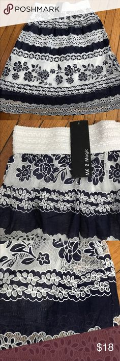 NWT ! Super cute skirt ! Adorable skirt ! Never worn . New with tag ! Me 2 Magic Skirts