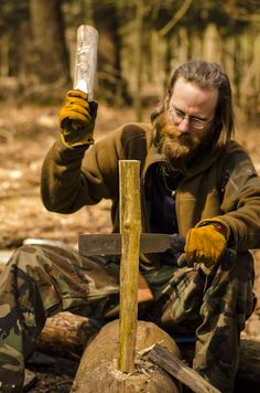 #Silky #Nata - great for splitting wood. #bushcraft #camping