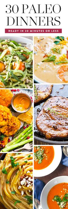 30 Paleo Dinner Recipes You Can Make in 30 Minutes or Less  #purewow #paleo #cooking #food #dinner #recipe #wellness