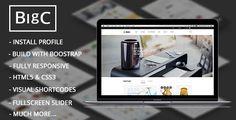 cool BigC Shop - Responsive Ecommerce Drupal Theme