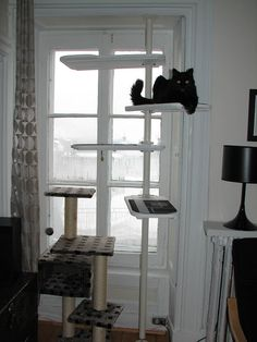 IKEA Hackers: Black and white Stolmen Cat Tree