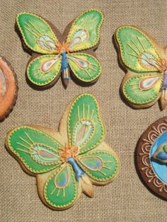 Butterfly Fairies - 3d-cookies Cake Cookies, Sugar Cookies, Cookie Decorating, Decorating Tips, Peter Pan Neverland, Butterfly Cookies, Butterfly Fairy, Cake Central, Incredible Edibles