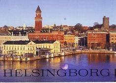 Greetings from the Postcrossing meeting in Helsingborg, Sweden. July 2, 2016.