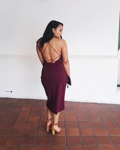 Burgundy Wrap Dress   Client @amber_brooke1 looking amazing wearing this Burgundy Wrap Dress. A little touch of Sueded straps and gun… Back Details, Fashion Brand, Amber, Wrap Dress, Burgundy, Bring It On, Classy, Simple, Amazing