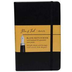 Pen & Ink Heavy-Weight Blank Sketch Book- 3-1/2x5-1/2 Inc... https://www.amazon.com/dp/B0025U10XE/ref=cm_sw_r_pi_dp_KOEyxbADBZNQV