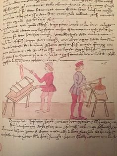 Page 25 verso Firenze, 15th Century, Fig, Weaving, Geek Stuff, Textiles, Tools, Sketches, Fabric