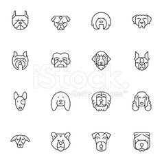 dog head icons                                                                                                                                                                                 More