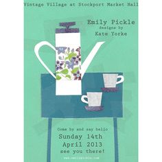 I'll be selling some of my beloved vintage items alongside my own designs at Stockports Vintage Village on 14th April. Follow this board to see vintage items for sale!