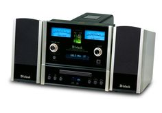 "McIntosh MXA60 Lifestyle System. $7,000 (including speakers). The finest ""Executive System"" (CD, Radio, Amp, & Speakers w/Remote Control package) by High End American Legend, McIntosh Labs. Uses a vacuum-tube pre-amp stage, with 75-watt/channel solid state amplifier. Clean & powerful enough to drive high-quality speakers of floor-size, but only sold WITH its custom speakers (which are very good). Has a Preamp Stereo Output to use with subwoofer, or to drive an outboard amplifier ."